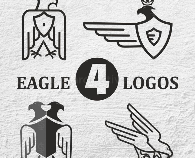 04 Royal and Original Eagle Logo Designs