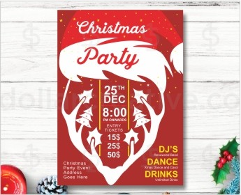 Christmas party invites-7