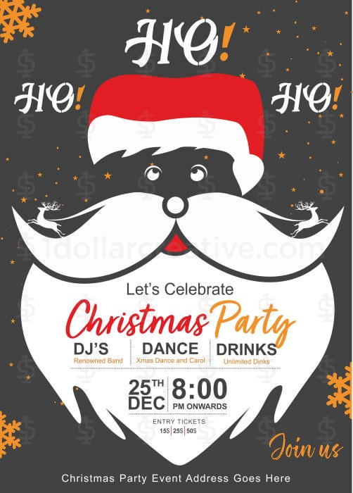 Christmas party invites-9